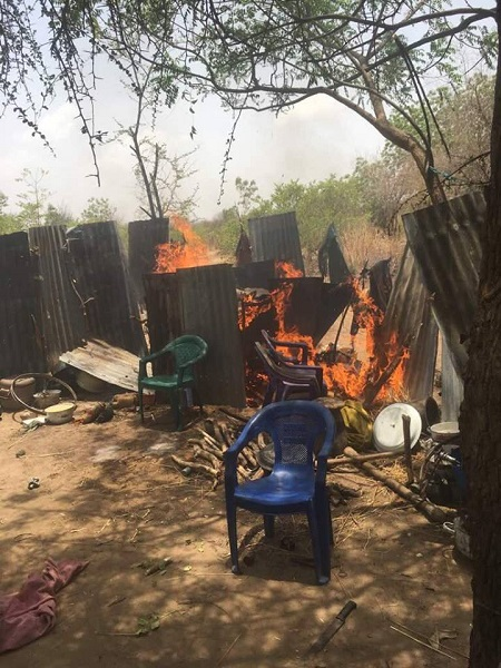 Newly Boko Haram Training Camp Located at Afa general area Destroyed By Soldiers (Photos)