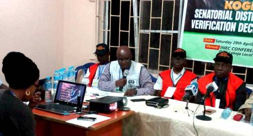 See Full Results Of Senator Dino Melaye's Recall Verification Exercise By Kogi State