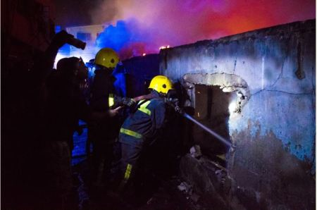 apapp3 - 16-Room Bungalow Razed By Fire In Apapa, Lagos (Photos)