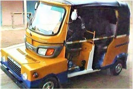 Awkward-looking Keke NAPEP Spotted On The Road (Photos)