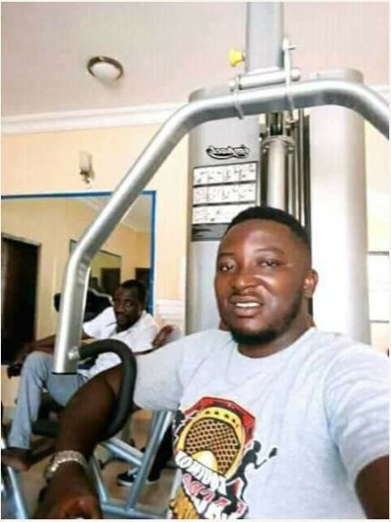 Photos Of Offa Robbery Gang Leader Relaxing In A Gym Before His Arrest