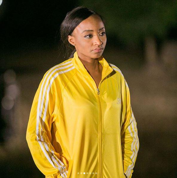 Banky W & Hausa Actress, Rahama Sadau, Pictured On Set Of 'Up North'
