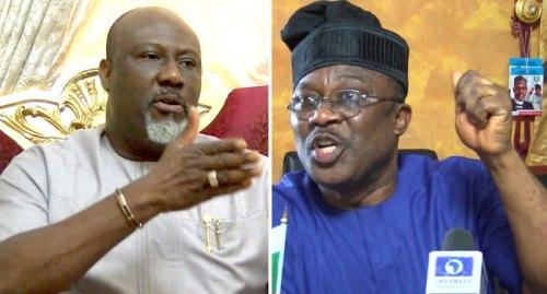 Dino Melaye and Smart Adeyemi
