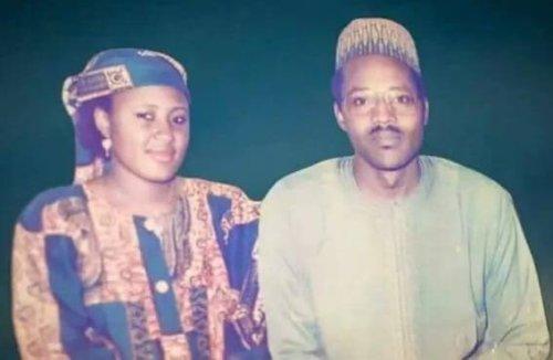 Buhari and his wife Aisha