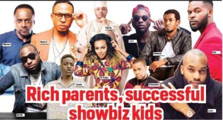showbiz kids with rich parents