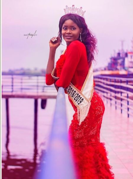 Newly Crowned Miss Tourism Africa Releases Official Photos In Bikini