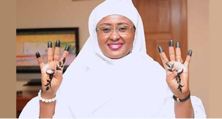 Buhari Only Seems Hard, He's Loving, Compassionate - Aisha 1