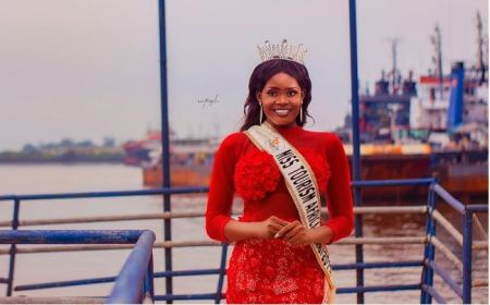 Newly Crowned Miss Tourism Africa Releases Official Photos In Bikini 1