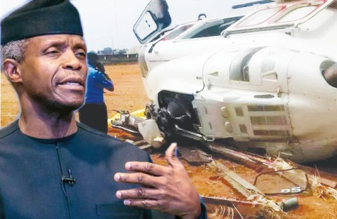 Why VP Osinbajo's Helicopter Crashed In Kogi State - Investigation 1