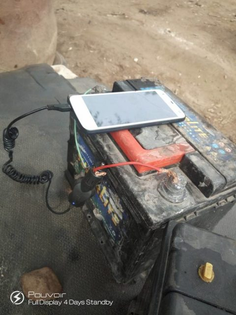 See How This Man Now Charges His Phone Due To Incessant Power Outage In Katsina (Photos) 3