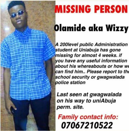 Olamide, Wizzy, University of Abuja
