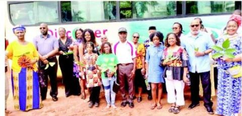 The African-Americans traced their roots to Anambra
