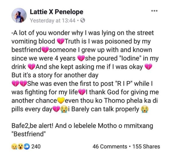 Lattie X Penelope shared the story
