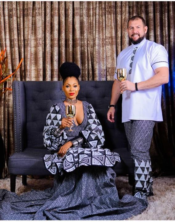Nigerian woman and her oyinbo fiance