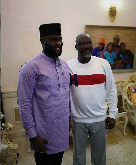 Sen. Dino Melaye hosts evicted Big Brother Naija housemates at his Abuja residence (Photos) 2