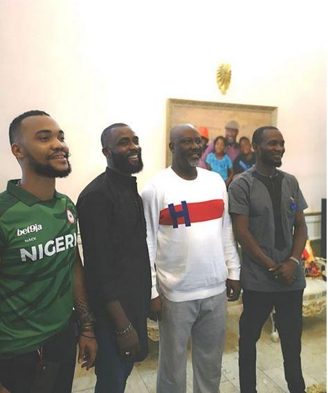 Sen. Dino Melaye hosts evicted Big Brother Naija housemates at his Abuja residence (Photos) 4