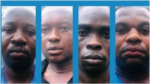 The soldiers were among the armed robbers that attacked a bullion van leading to death of four police officers