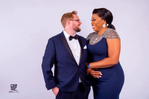 debi2 - Fabulous! 40-year-old Nigerian Lady Will get Engaged To Oyinbo Lover On Her Birthday (Pictures)