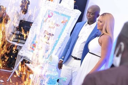 Check Out Photos From The Naming Ceremony Of Regina Daniels And Ned Nwoko's Son