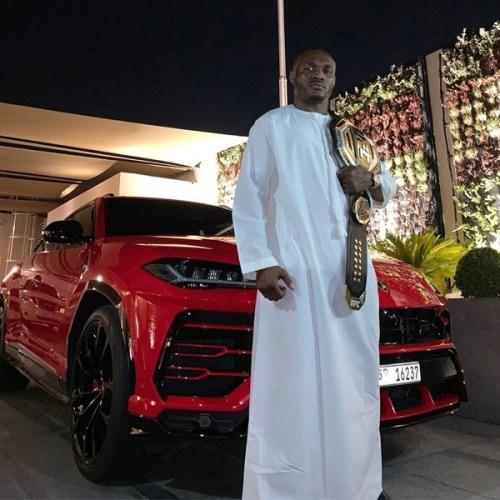 Checkout Nigerian Mixed Martial Champion, Usman Kamaru's Luxury Cars And Motorbike (Photos)