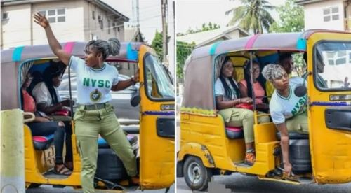 Uwaoma Susan Joseph bought the keke napep for her personal business