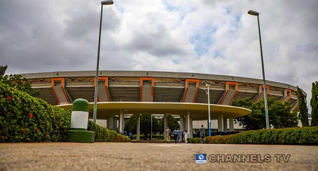 FG Commissions MKO Abiola Stadium In Abuja. 2