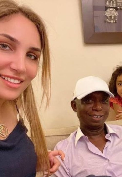 charani2 - Ned Nwoko's Moroccan Spouse, Laila Congratulates Regina Daniels On Delivery Of Her Child
