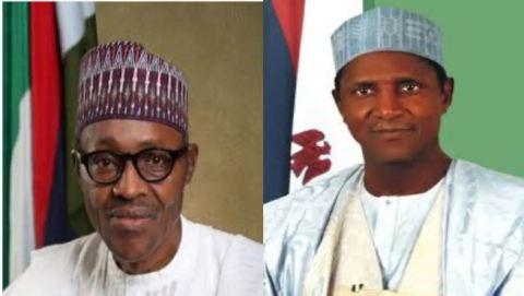 Muhammadu Buhari and Umaru Yar'Adua