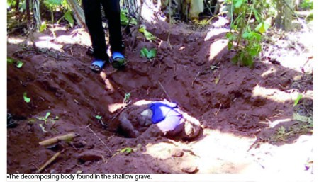 Shocker! How Son From Hell Murdered His 83-Year-Old Dad, Dumped His Body Inside Pit Toilet In Enugu (Photo)