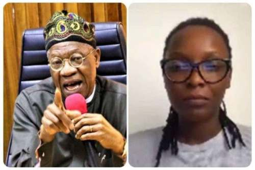 Lai Mohammed and DJ Switch