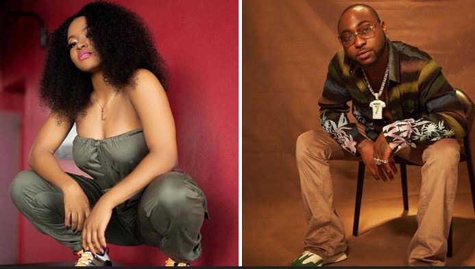 Excitement As Davido Signs First Female Artiste, Liya