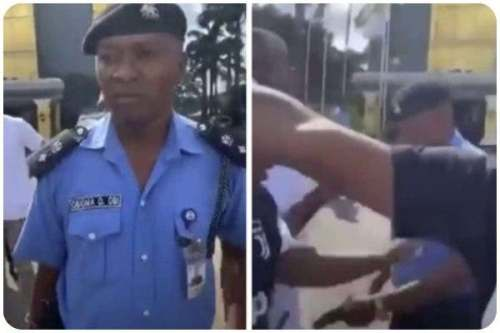 The DPO threatened to shoot the protesters in Owerri