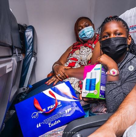 Air Peace shares Easter gift to passengers