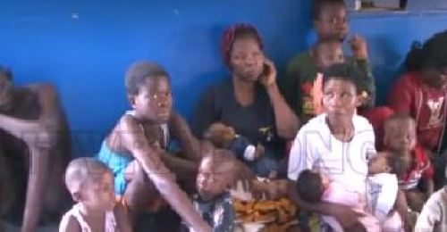 rescue  Police Bust Human Trafficking Syndicate In Edo, Rescue 19 Children, Others (Videos) sd