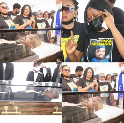 burial  Photos From The Funeral Service Of Afenifere Spokesperson, Yinka Odumakin odumakins 20burial