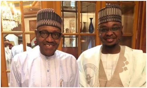 President Muhammadu Buhari and Isa Pantami