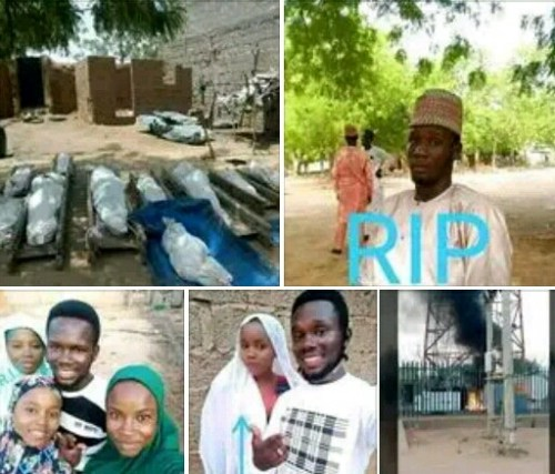Residents slaughtered by Boko Haram terrorists