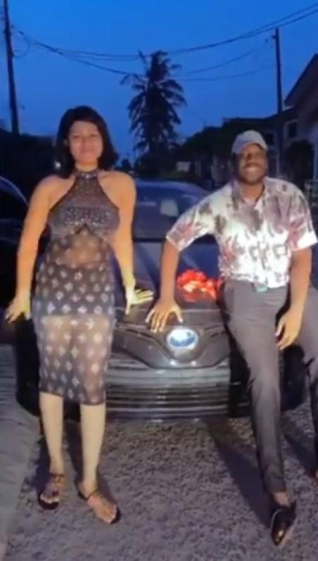 The Man Gave His Girlfriend A Car Gift