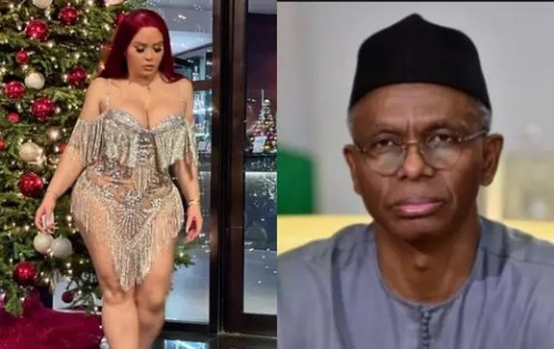 The woman claimed she has been sleeping with Governor Nasir El-Rufai