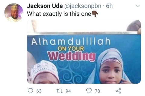 The Grandfather Married An Underage Girl In Northern Nigeria