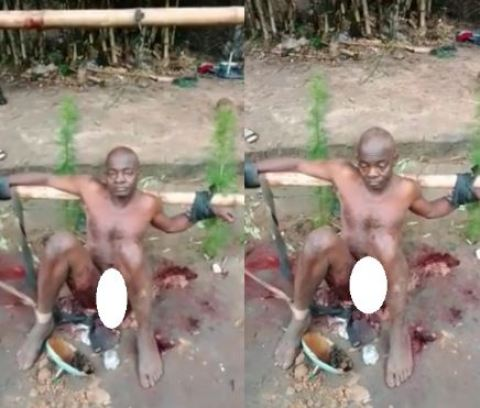 Man's penis mutilated by IPOB supporters