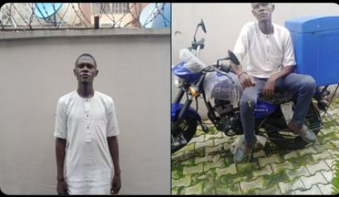 The dispatcher who disappeared with boss' bike