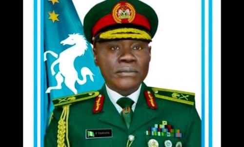 Chief of Army Staff (COAS), Major General Faruk Yahaya