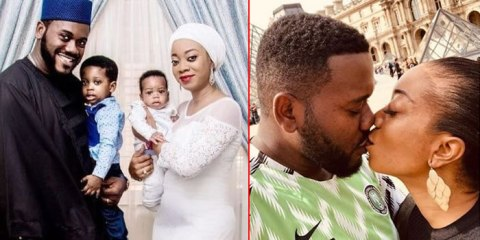 Actor Deyemi celebrates his wife