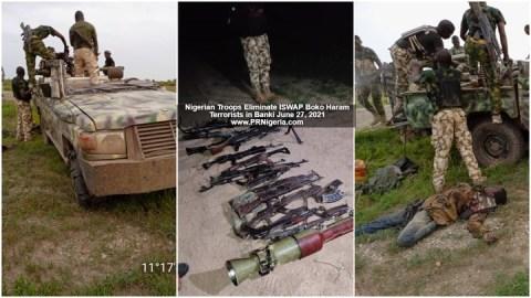 Terrorists kille by Nigerian troops