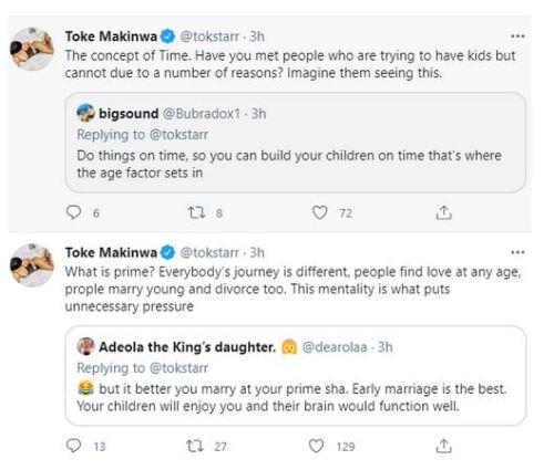 Toke Makinwa Addresses Those Who Age-shame Women And Ask ...