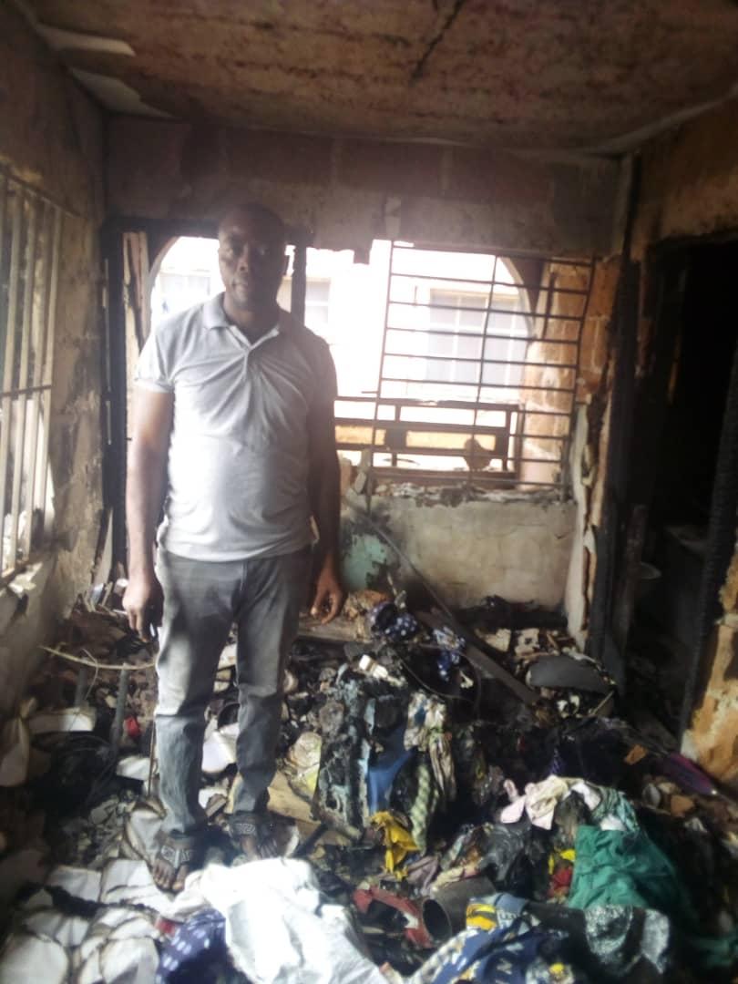 Nnewi house fire