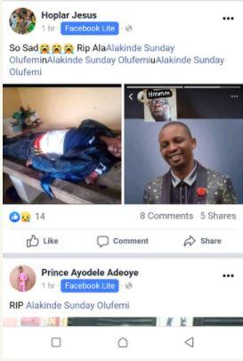Sunday Alakinde death