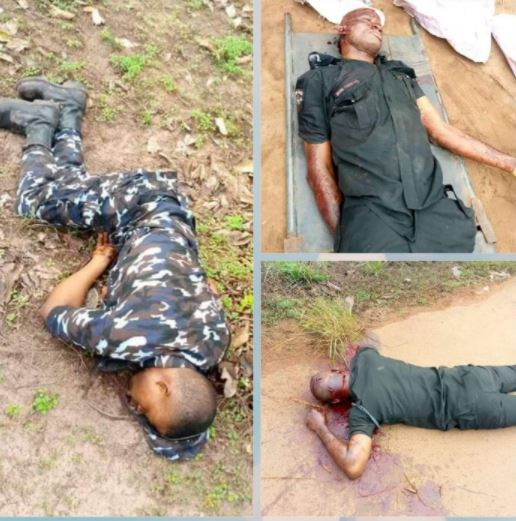 Policemen killed in Abia state