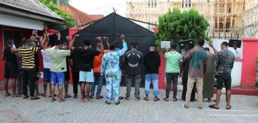 Yahoo boys arrested in Calabar